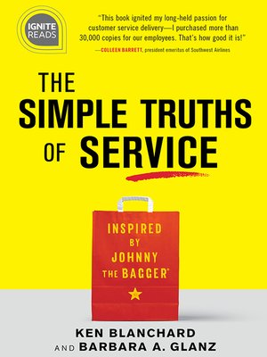 cover image of The Simple Truths of Service