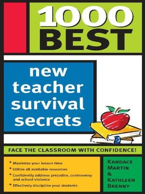 cover image of 1000 Best New Teacher Survival Secrets