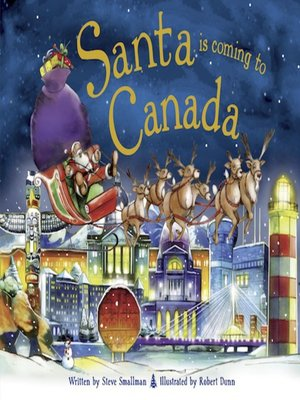 cover image of Santa Is Coming to Canada