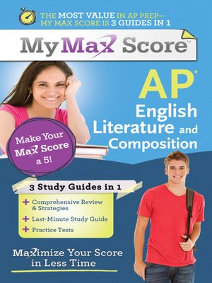 cover image of My Max Score AP English Literature and Composition