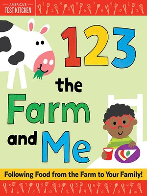 cover image of 1 2 3 the Farm and Me