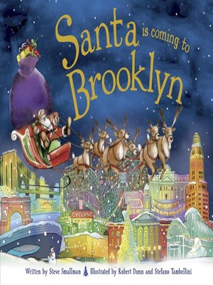 cover image of Santa Is Coming to Brooklyn