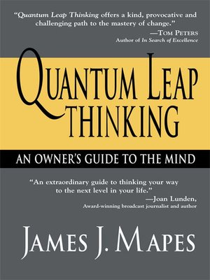 cover image of Quantum Leap Thinking
