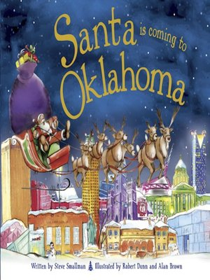 cover image of Santa Is Coming to Oklahoma