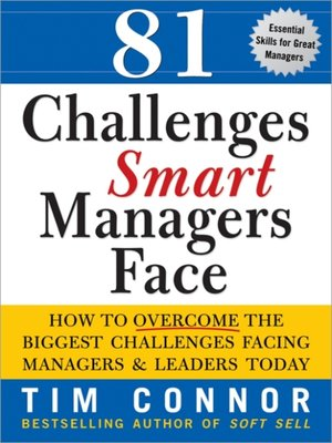 cover image of 81 Challenges Smart Managers Face