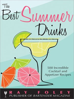 cover image of The Best Summer Drinks