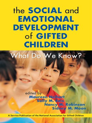 cover image of The Social and Emotional Development of Gifted Children