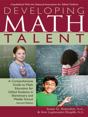 cover image of Developing Math Talent
