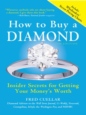 cover image of How to Buy a Diamond