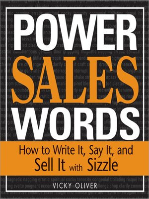 cover image of Power Sales Words