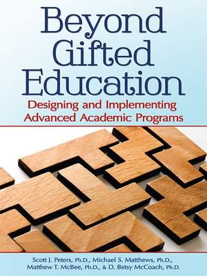 cover image of Beyond Gifted Education