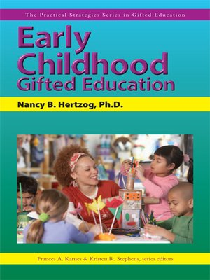 cover image of Early Childhood Gifted Education