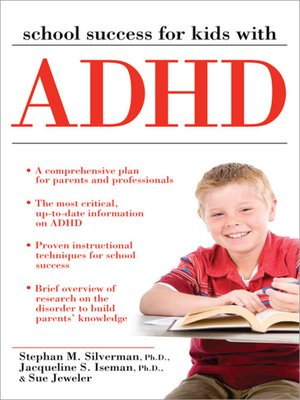 cover image of School Success for Kids with ADHD