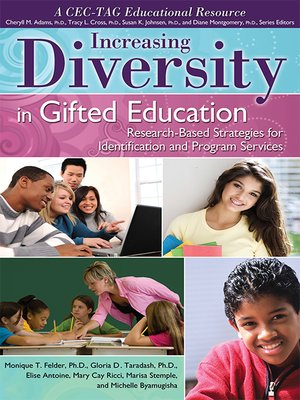 cover image of Increasing Diversity in Gifted Education