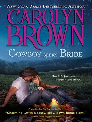 cover image of Cowboy Seeks Bride