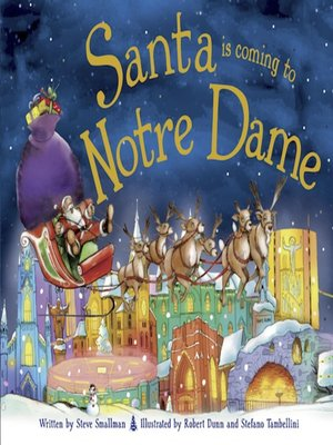 cover image of Santa Is Coming to Notre Dame