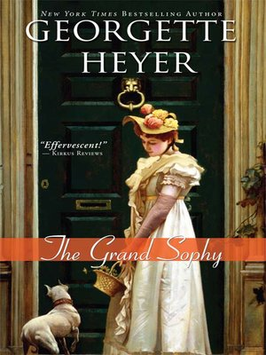cover image of The Grand Sophy