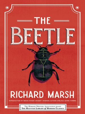 cover image of The Beetle