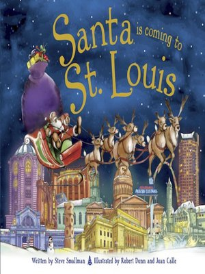 cover image of Santa Is Coming to St. Louis