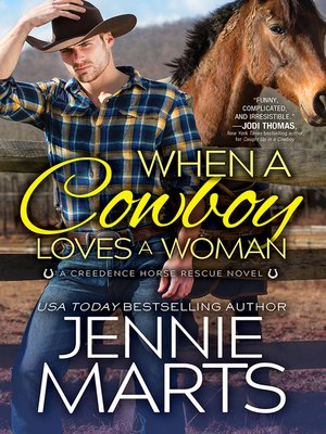 cover image of When a Cowboy Loves a Woman