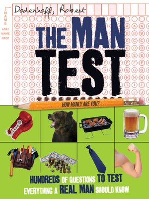 cover image of The Man Test