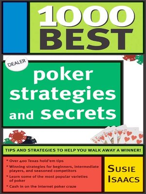 cover image of 1,000 Best Poker Strategies and Secrets