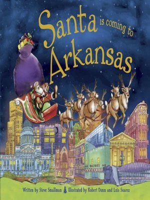 cover image of Santa Is Coming to Arkansas