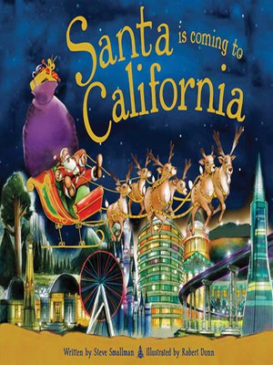 cover image of Santa Is Coming to California