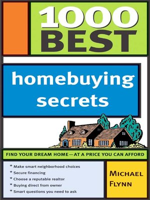 cover image of 1,000 Best Homebuying Secrets