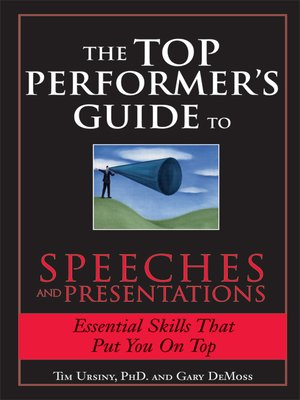 cover image of The Top Performer's Guide to Speeches and Presentations
