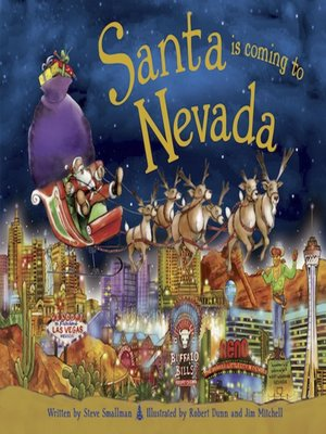 cover image of Santa Is Coming to Nevada
