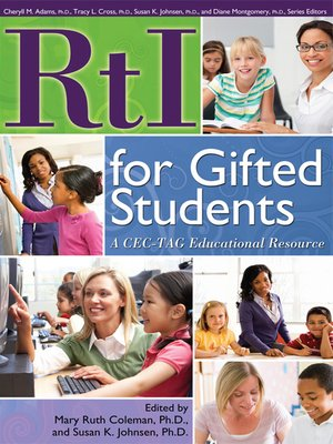 cover image of RtI for Gifted Students