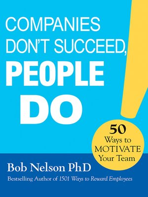 cover image of Companies Don't Succeed, People Do