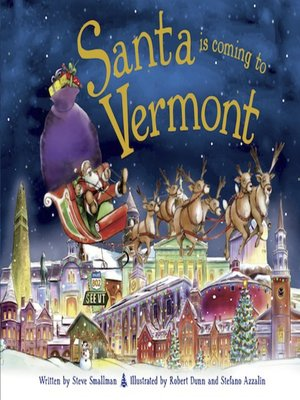 cover image of Santa Is Coming to Vermont