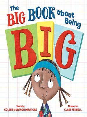 cover image of The Big Book about Being Big