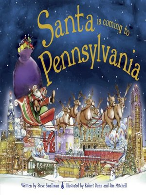 cover image of Santa Is Coming to Pennsylvania