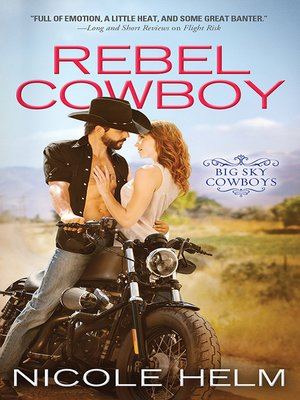 cover image of Rebel Cowboy
