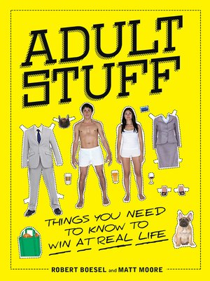 cover image of Adult Stuff