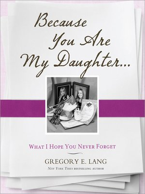 cover image of Because You Are My Daughter