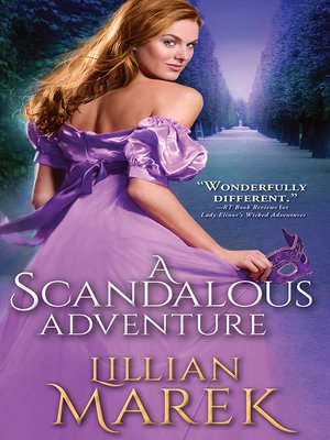 cover image of A Scandalous Adventure