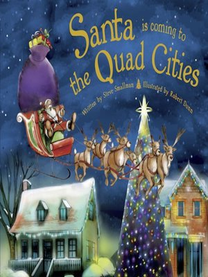 cover image of Santa Is Coming to the Quad Cities