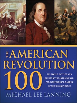 cover image of The American Revolution 100
