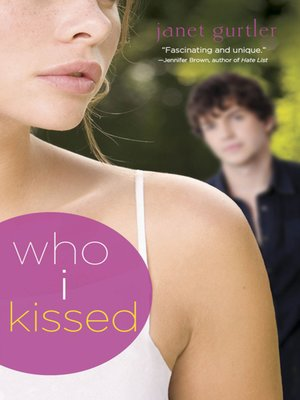 cover image of Who I Kissed