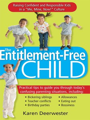 cover image of The Entitlement-Free Child