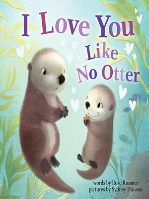 cover image of I Love You Like No Otter