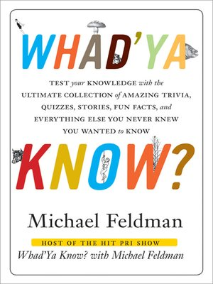 cover image of Whad'Ya Know?