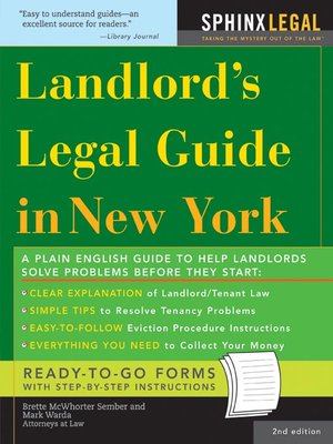 Landlords Legal Guide In New York
