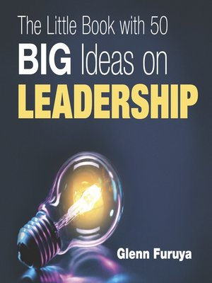 cover image of The Little Book with 50 Big Ideas on Leadership