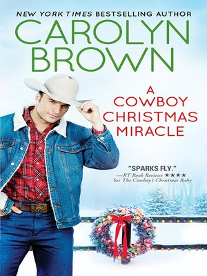 cover image of A Cowboy Christmas Miracle
