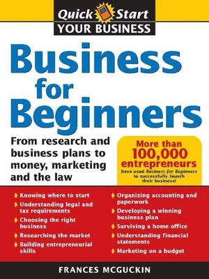 cover image of Business for Beginners